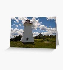 Port Medway Nova Scotia Greeting Card