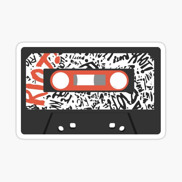 Riot! Cassette Tape Sticker