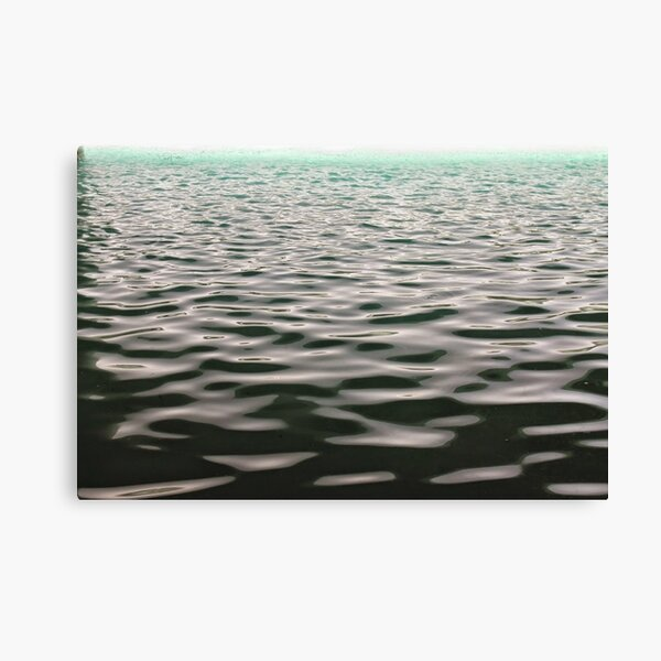 #water, #sea, #wave, #nature, #reflection, abstract, beach, summer, clean, liquidity, seascape Canvas Print
