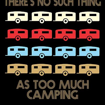 Camping Retro Vintage 1970's Style by funnyguy