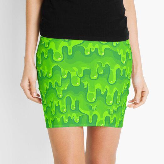 Slimed Mini Skirt