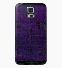 USGS TOPO Map Louisiana LA Dry Prong 331877 1985 24000 Inverted Case/Skin for Samsung Galaxy
