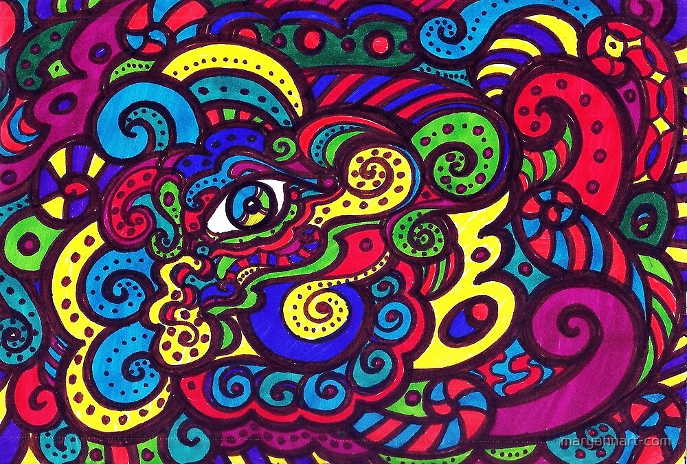 Eye Paint by maryannart-com