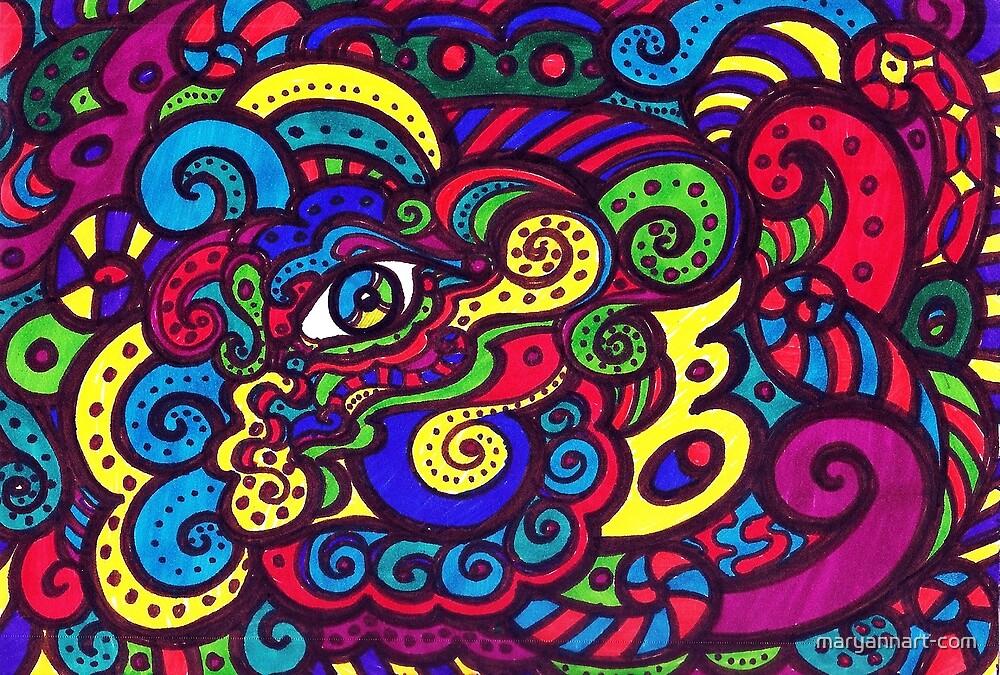 Eye Paint by maryannart-com
