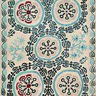 Ferghana Suzani  Antique North East Uzbekistan Embroidery by Vicky Brago-Mitchell