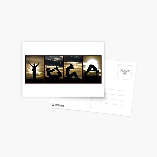 Yoga  Postcard