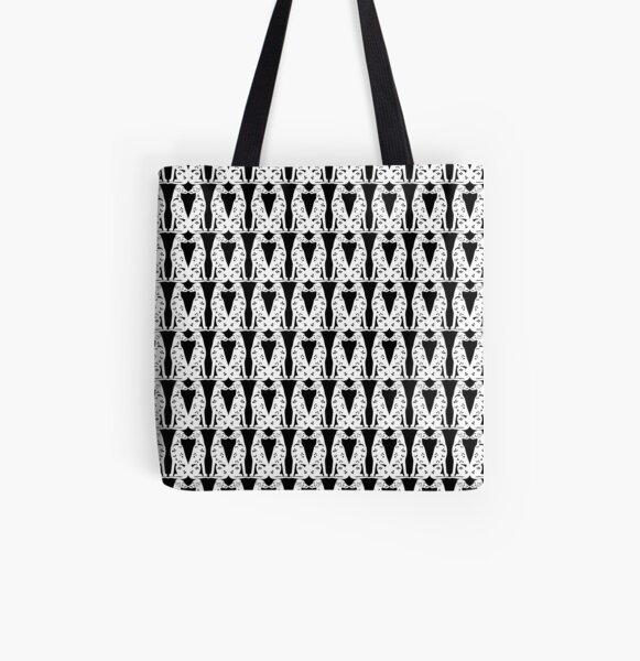 101 Dalmatiner Baumwollstoff schwarz//weiß Allover