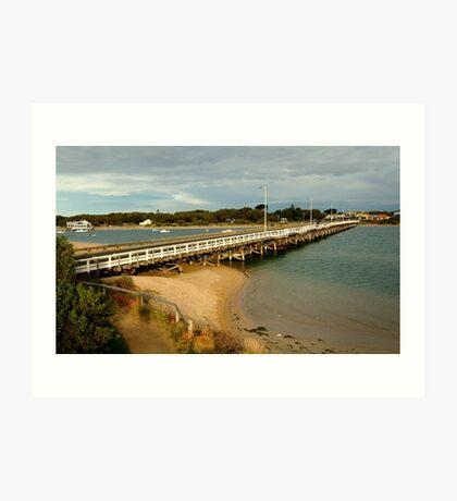 Barwon Heads Bridge,Bellarine Peninsula Art Print