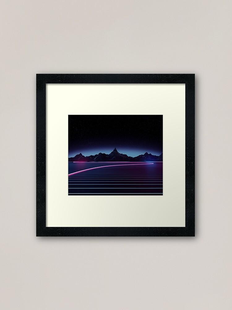 Alternate view of Highway Framed Art Print