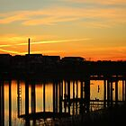 Waterfront Sunset by Cynthia48
