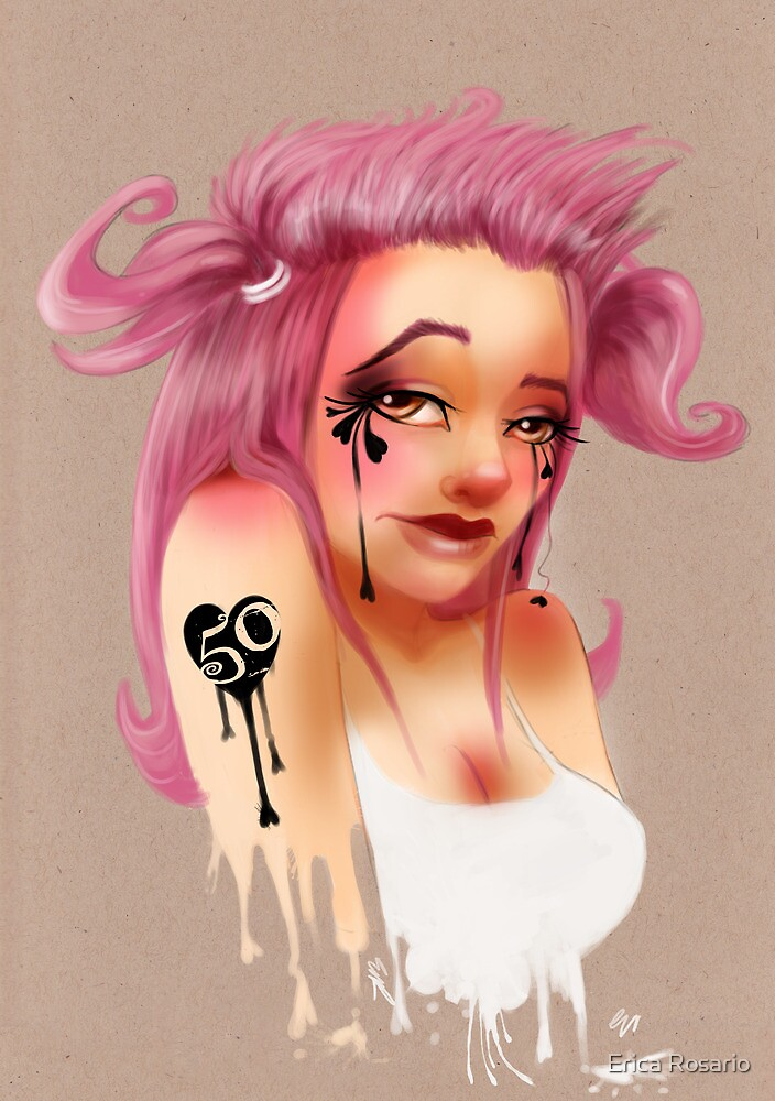 Girl 50 | Pigtails by Erica Rosario