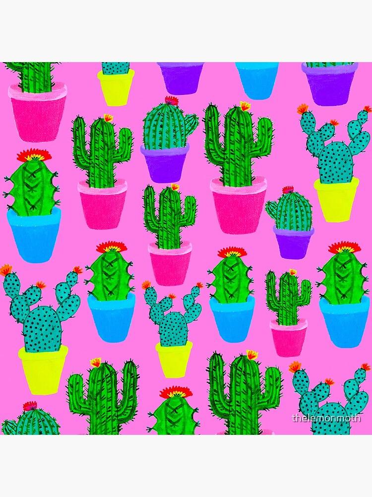 Bubblegum Cacti by thelemonmoth