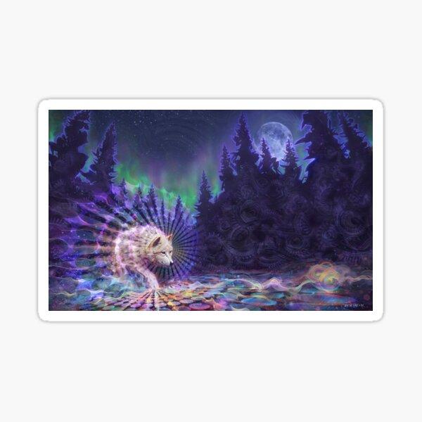 Spirit Wolf Sticker