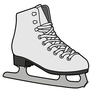 ice skate by daisy-sock
