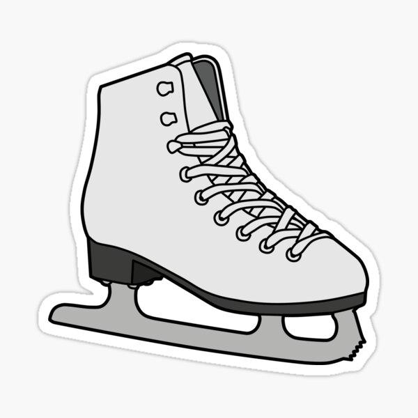 ice skate Sticker