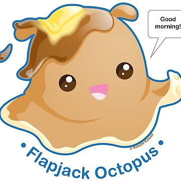 Cute Flapjack Octopus by kimchikawaii