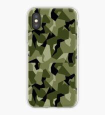moderne green camo  iPhone Case