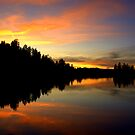Firey Sunset by K D Graves Photography