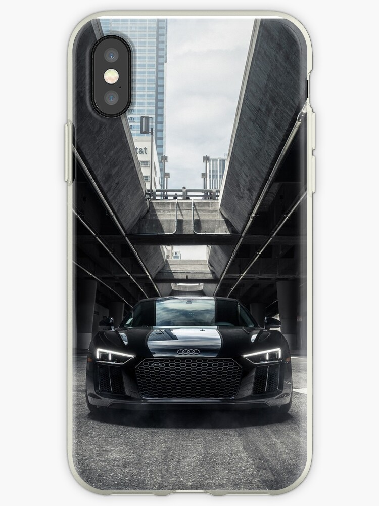 huge selection of 15350 37658 'The New Audi R8 V10+' iPhone Case by Mo Satarzadeh