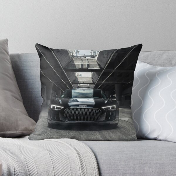 The New Audi R8 V10+ Throw Pillow