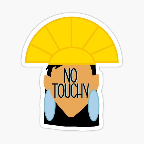 No Touchy Sticker
