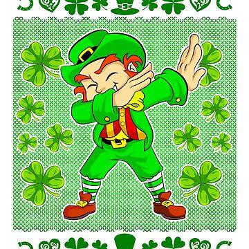 Dabbing Leprechaun St. Patrick's Ugly by frittata