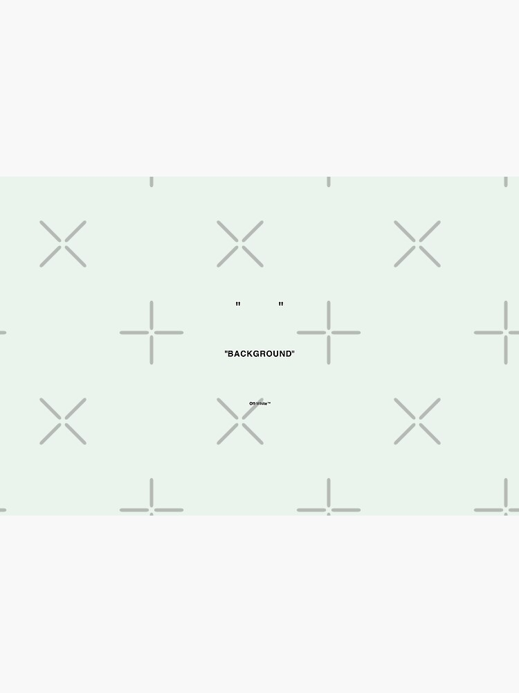 Off White Quotations Color Background Laptop Skin