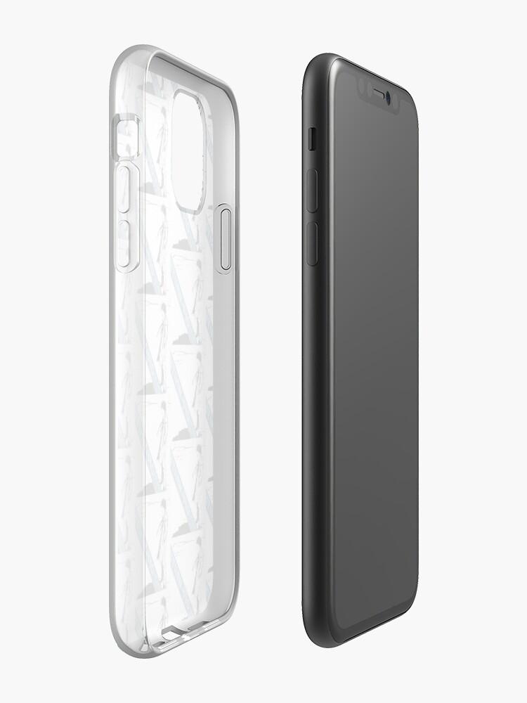 Coque iPhone «ÉTUI / CHEMISES / AUTRES OBJETS BLU», par kiamargot