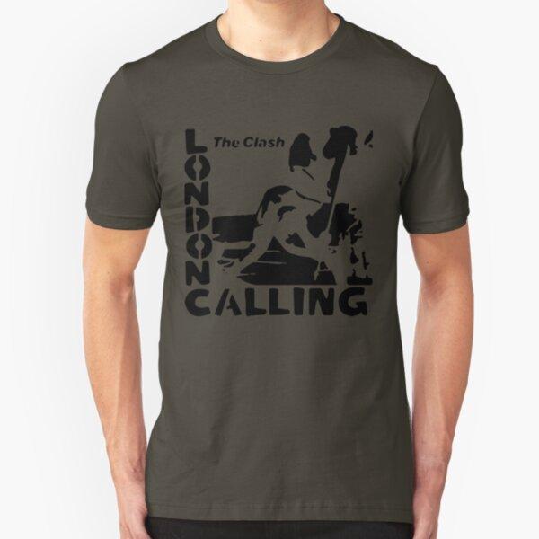 London Calling - The Black Stencil Slim Fit T-Shirt