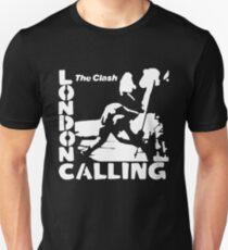 Camiseta ajustada London Calling - La Plantilla Blanca