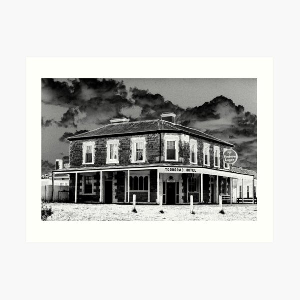 Tooborac Hotel - Solarised Art Print