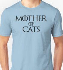 Camiseta unisex Madre de gatos camiseta