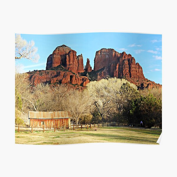 Cathedral Rock Poster