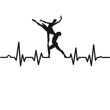 ECG with dancer dancer by Kriv71