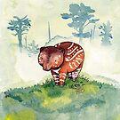 Baby Tapir by gurukitty
