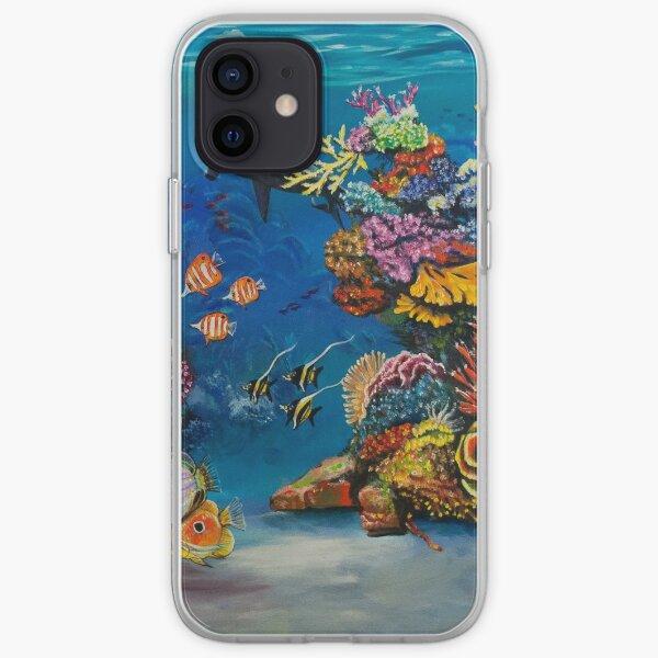 Récif de corail Coque souple iPhone
