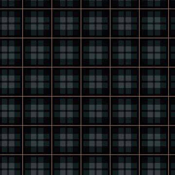 Clssic Dark Blue Plaid Pattern  by deecdee