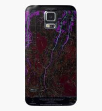 USGS TOPO Map Louisiana LA Dulac 334494 1964 62500 Inverted Case/Skin for Samsung Galaxy