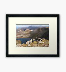Lochnagar on a sunny weekend Framed Print