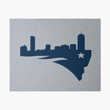 Boston Patriots Art Board Print