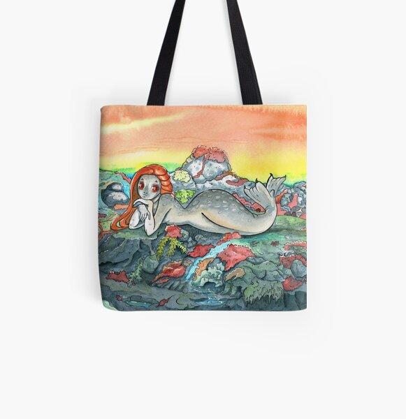 Selki All Over Print Tote Bag