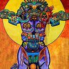 Art In Chicano Park, San Diego, California USA  by Heather Friedman