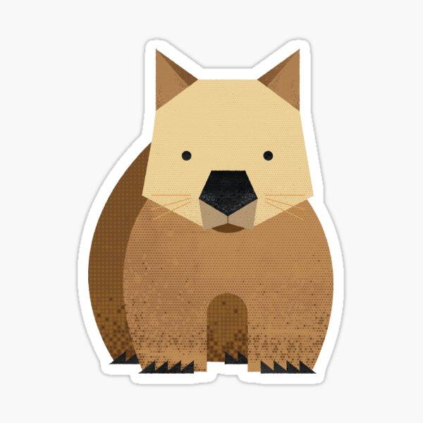 Whimsy Wombat Sticker