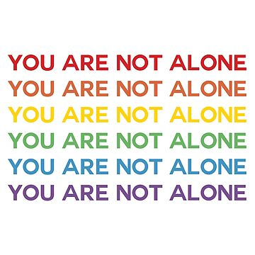 DEH - You Are Not Alone Rainbow by broadway-island