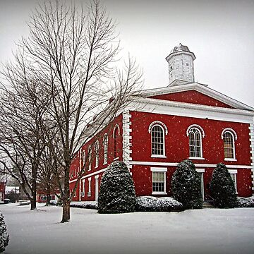 Iron County Courthouse in the Snow by FrankieCat