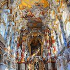 Germany. Bavaria. Wieskirche. Altar. by vadim19