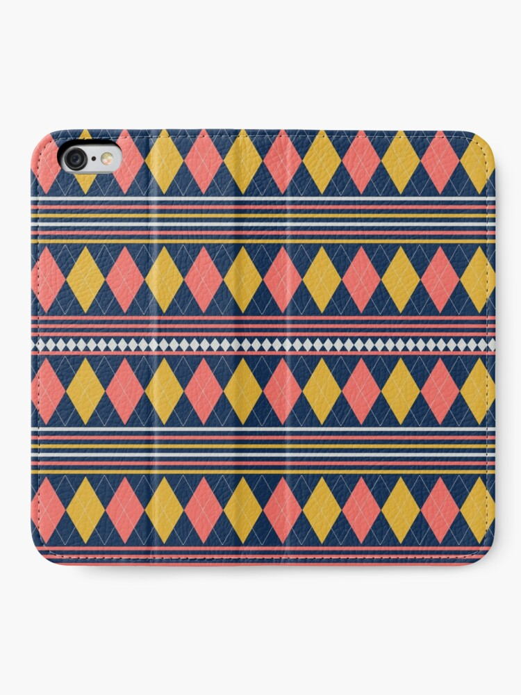 Alternate view of Golf Anyone, how about a little Scottish Argyle in your life. iPhone Wallet