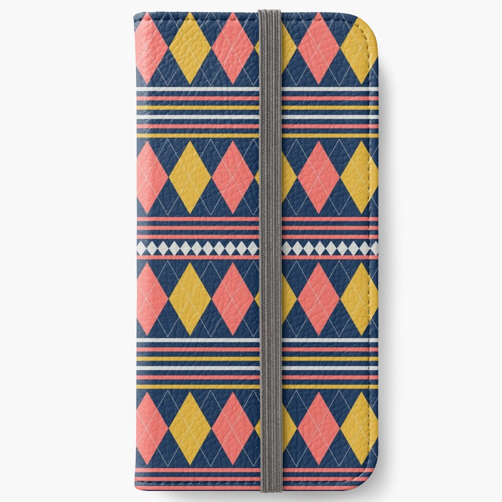 Golf Anyone, how about a little Scottish Argyle in your life. iPhone Wallet
