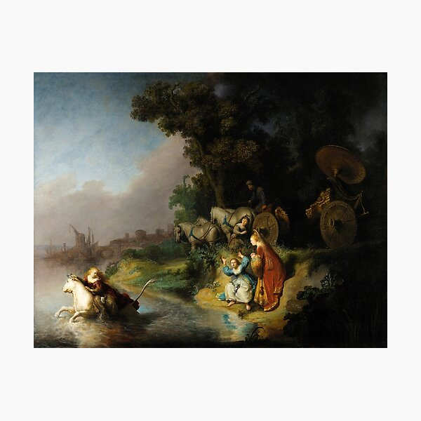 The Abduction of Europa by Rembrandt (1632) Photographic Print