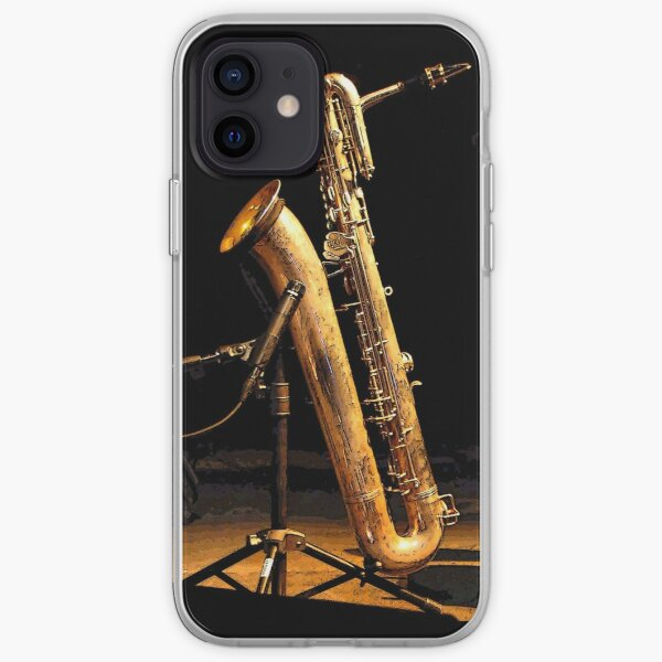 Baritone sax iPhone Soft Case